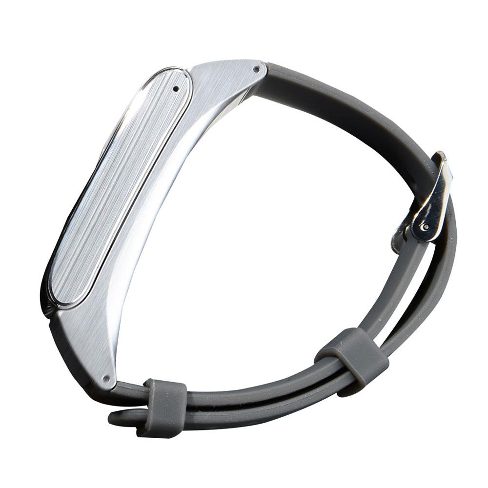 df22 bluetooth smart sport fitness bracelet headset earphone for android silv. Black Bedroom Furniture Sets. Home Design Ideas