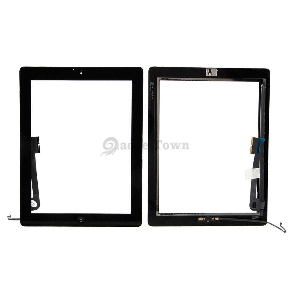 A1460 A1459 A1458 Touch Screen Digitizer + Home Button for Apple ...