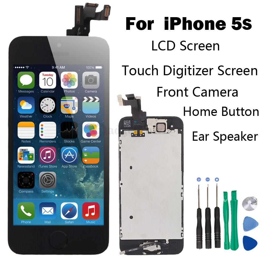 how to replace iphone 5s screen set lcd touch screen digitizer assembly replacement 19006