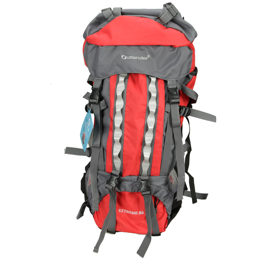 eaa7d3d658d3 80L Internal Frame Hiking Backpack Water Resistant Rucksack Outdoor Camping