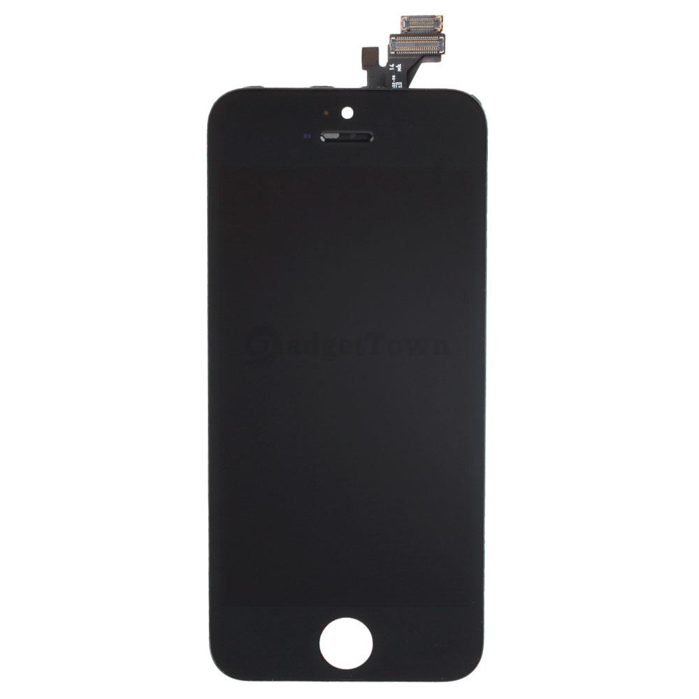 black screen on iphone 5 replacement lcd touch digitizer screen assembly a1428 9823