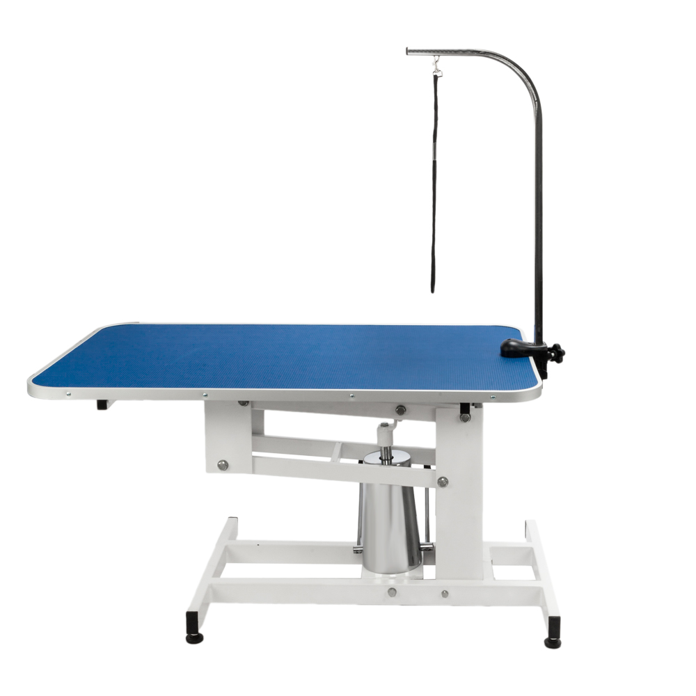 Adjustable Z Lift Hydraulic Dog Grooming Table Powder