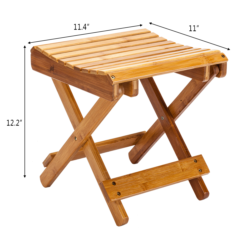 Pleasant Details About High Grade Wood Stool Folding Chair Bench Seat Utility Multi Functional 2 Color Gmtry Best Dining Table And Chair Ideas Images Gmtryco